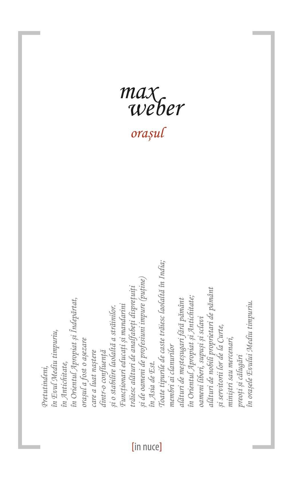 Orasul PDF (Download eBook)