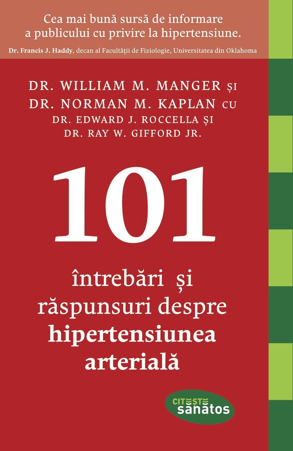 101 Intrebari si raspunsuri despre hipertensiunea arteriala (eBook)