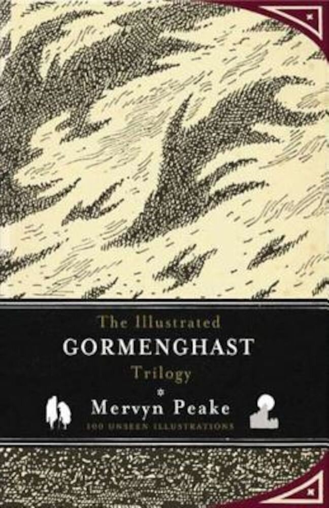 The Illustrated Gormenghast Trilogy, Hardcover