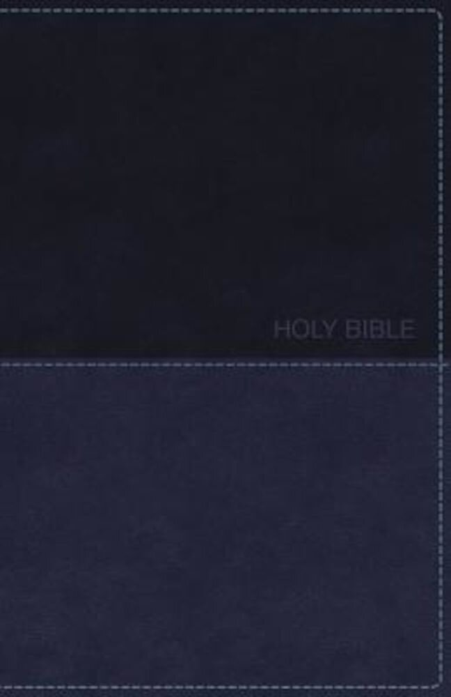 KJV, Deluxe Gift Bible, Imitation Leather, Blue, Red Letter Edition, Hardcover