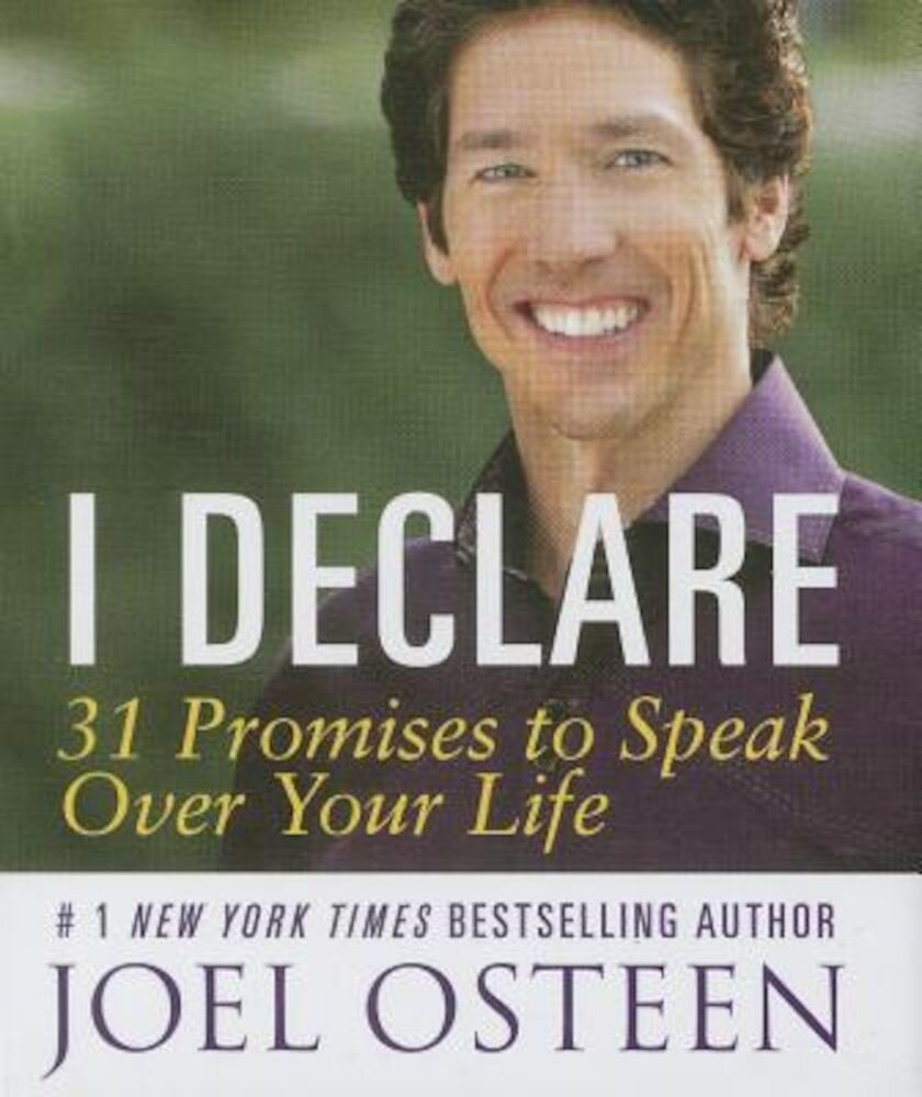 I Declare: 31 Promises to Speak Over Your Life, Hardcover
