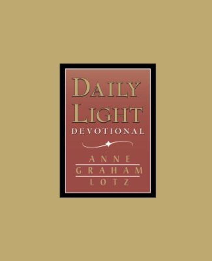 Daily Light - Burgundy, Hardcover