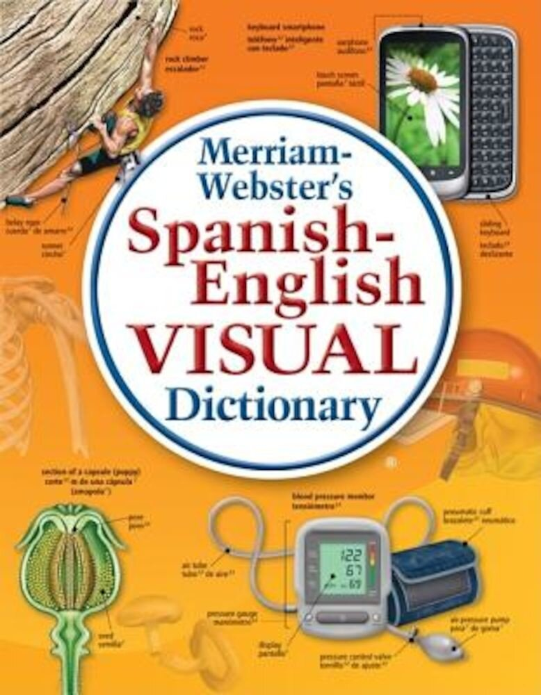 Merriam-Webster's Spanish-English Visual Dictionary, Hardcover