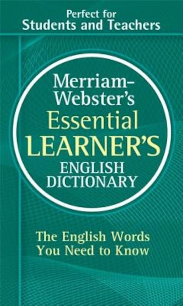Merriam-Webster's Essential Learner's English Dictionary, Paperback