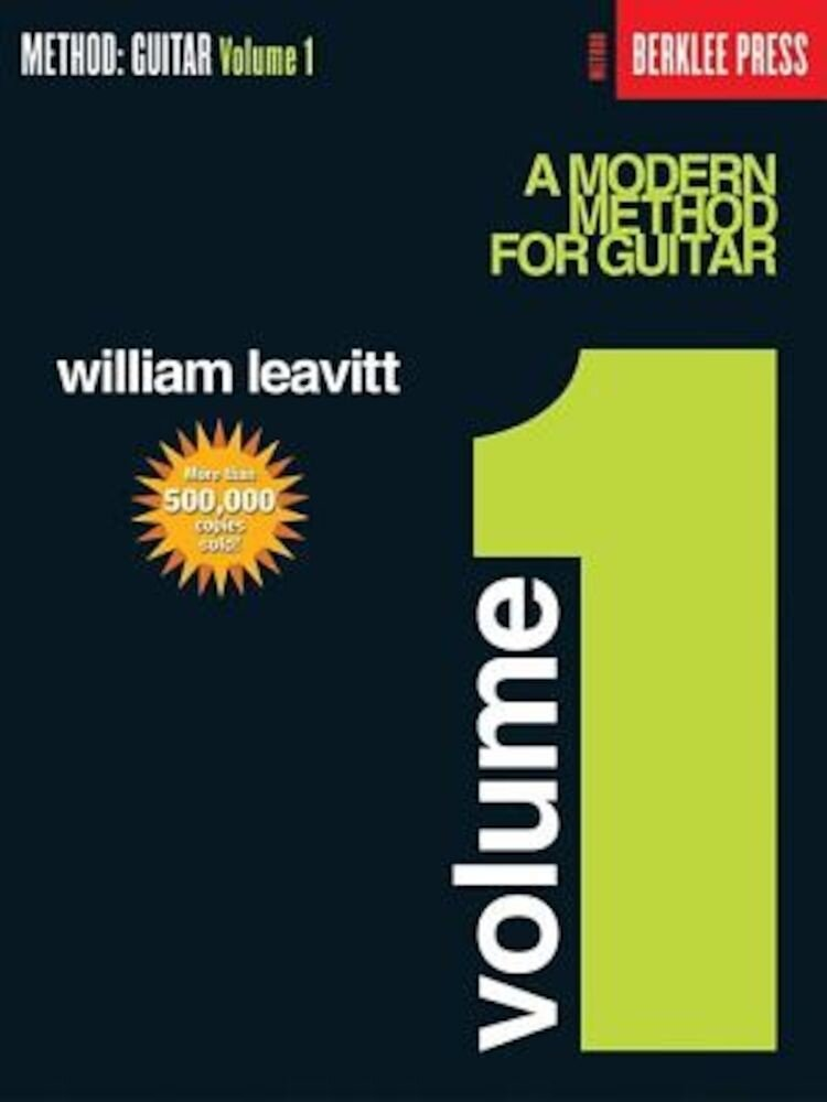 A Modern Method for Guitar - Volume 1: Guitar Technique, Paperback