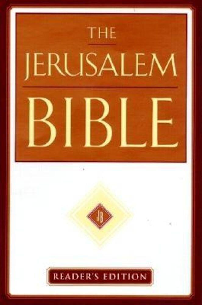 Jerusalem Bible-Jr, Hardcover