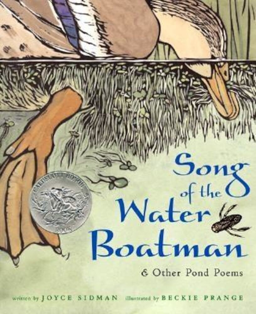 Song of the Water Boatman and Other Pond Poems, Hardcover
