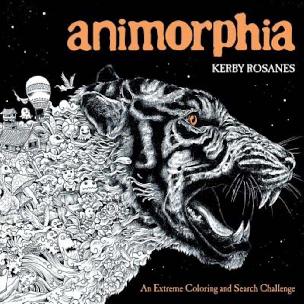 Animorphia: An Extreme Coloring and Search Challenge, Paperback