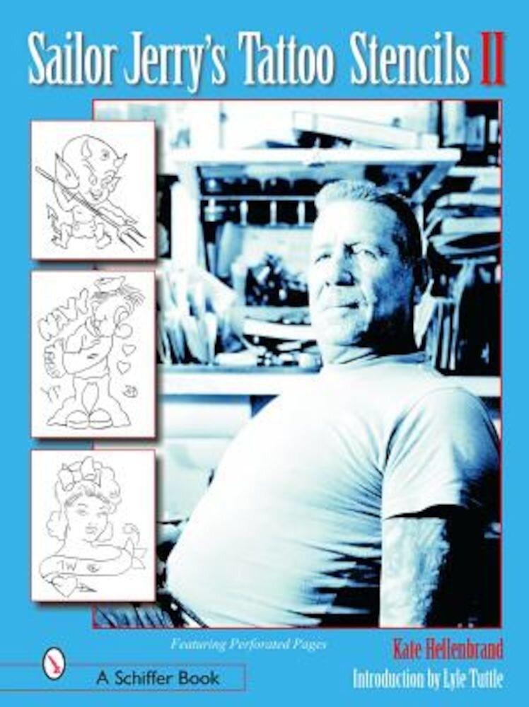 Sailor Jerry's Tattoo Stencils II, Paperback