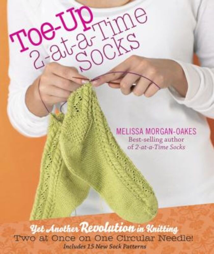 Toe-Up 2-At-A-Time Socks, Hardcover