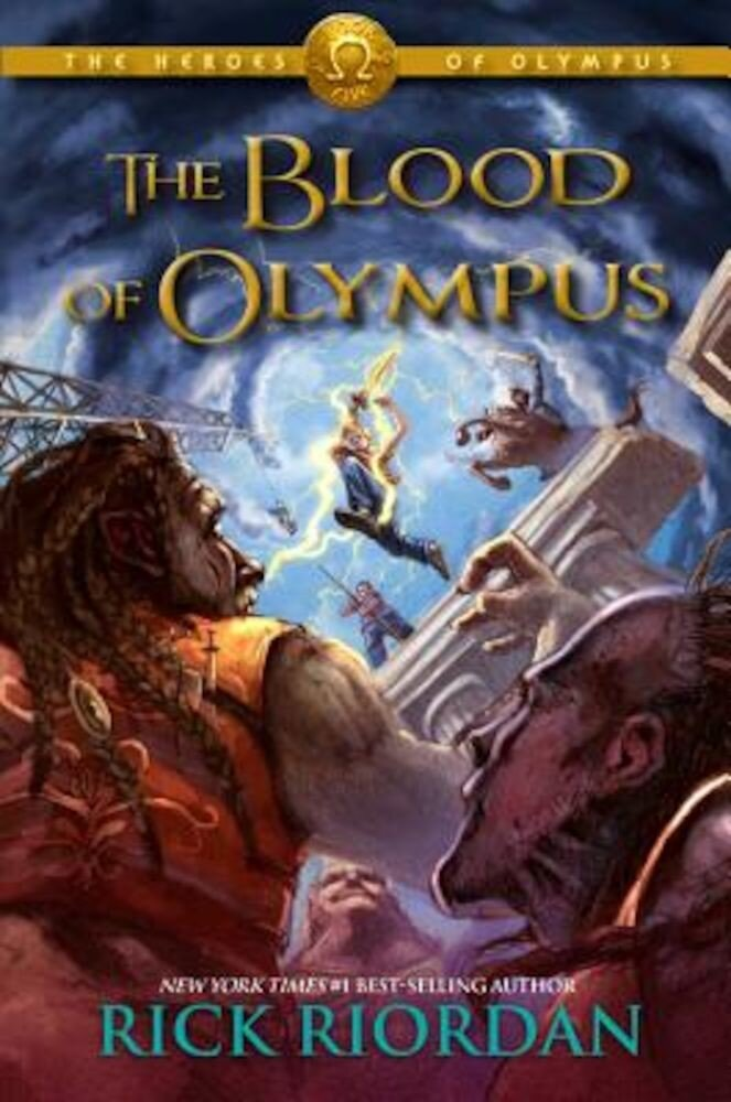 The Blood of Olympus, Hardcover