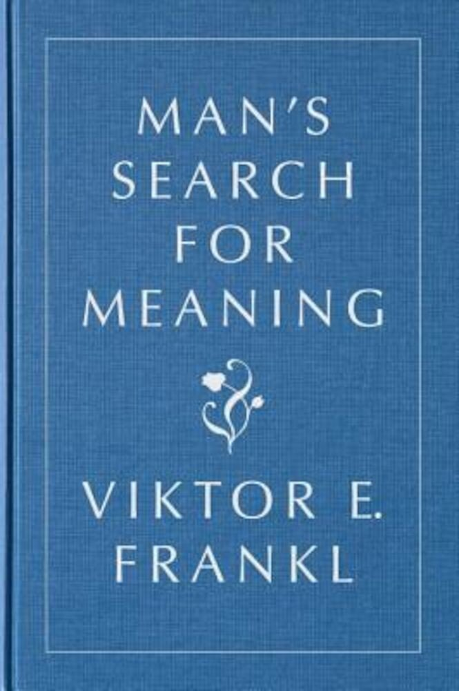 Man's Search for Meaning, Gift Edition, Hardcover