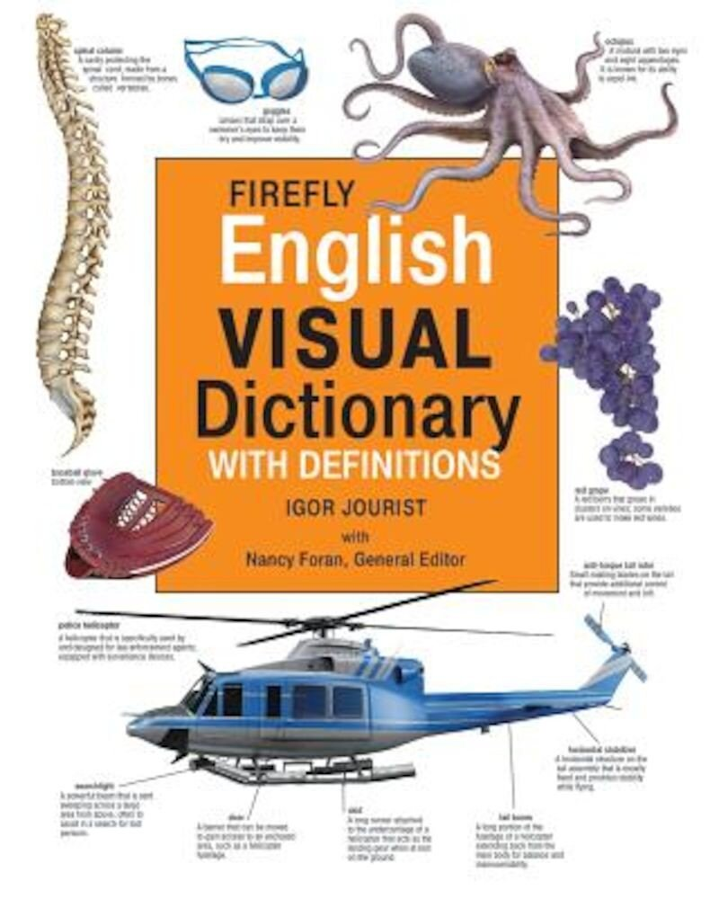 Firefly English Visual Dictionary with Definitions, Hardcover