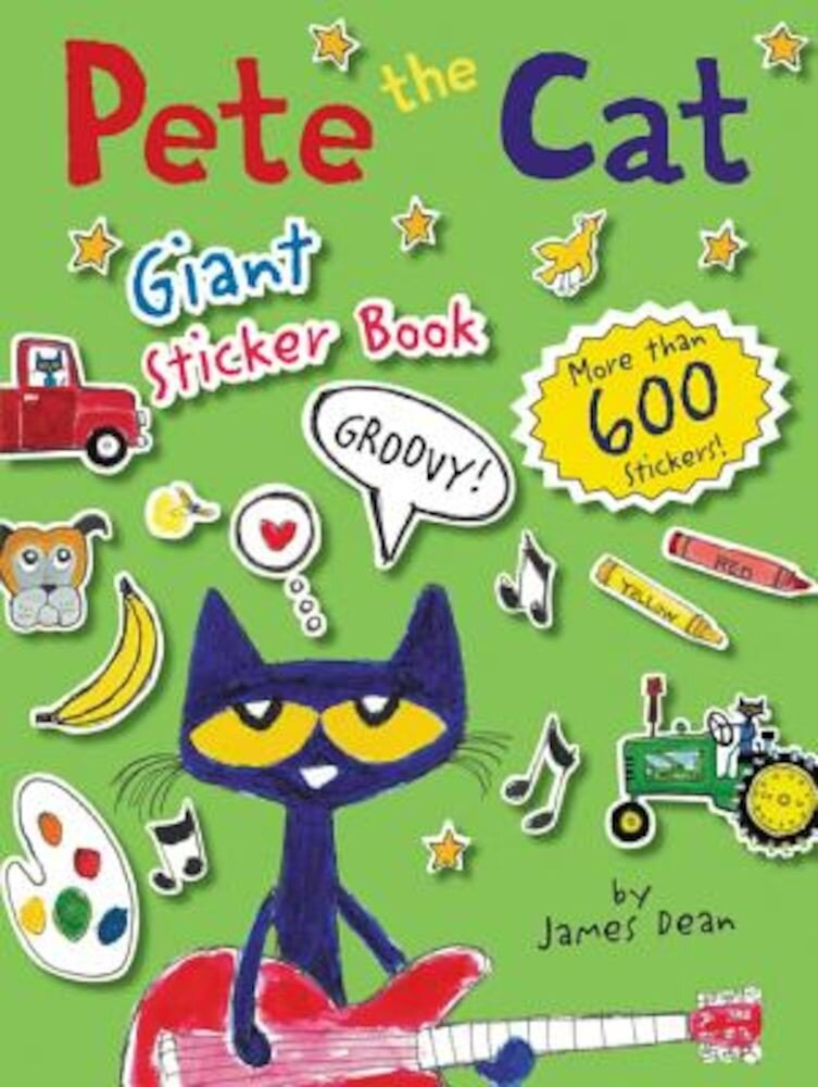 Pete the Cat Giant Sticker Book, Paperback