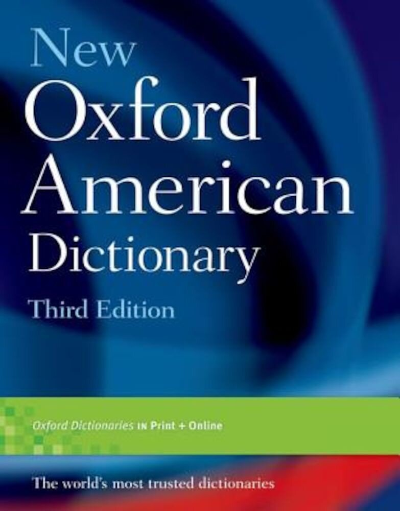 New Oxford American Dictionary, Hardcover