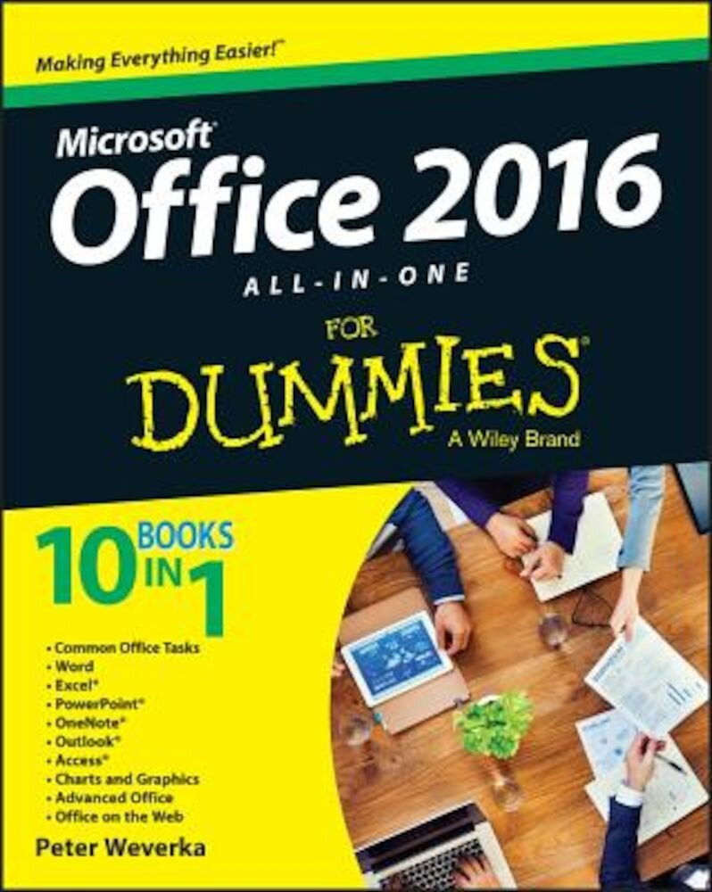 Office 2016 All-In-One for Dummies, Paperback