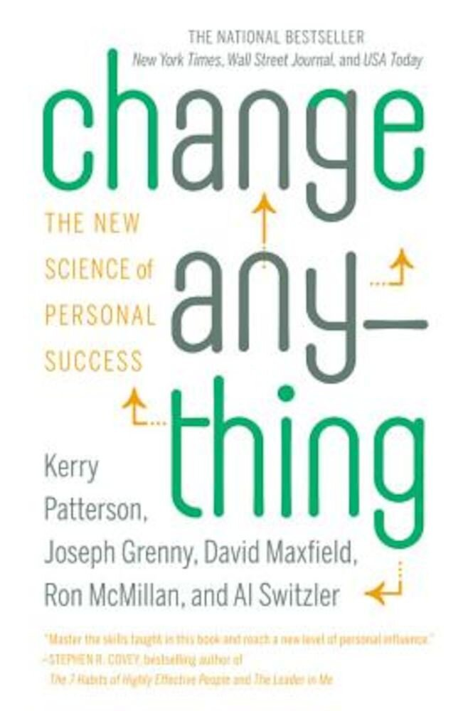 Change Anything: The New Science of Personal Success, Paperback