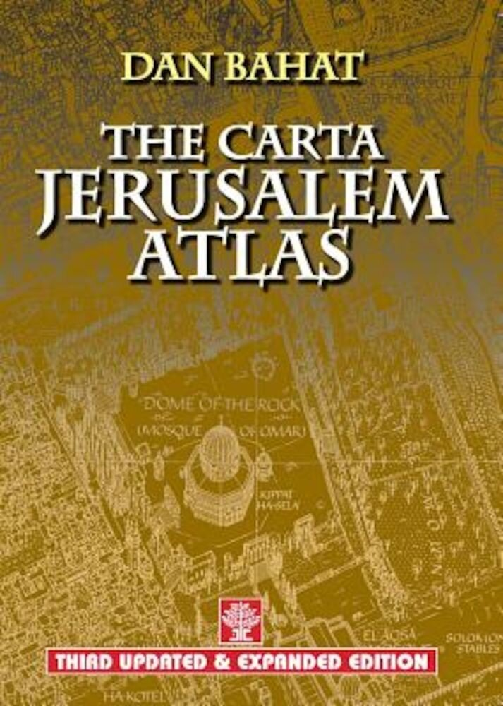 The Carta Jerusalem Atlas, Paperback