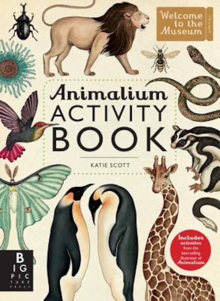 Animalium Activity Book, Paperback