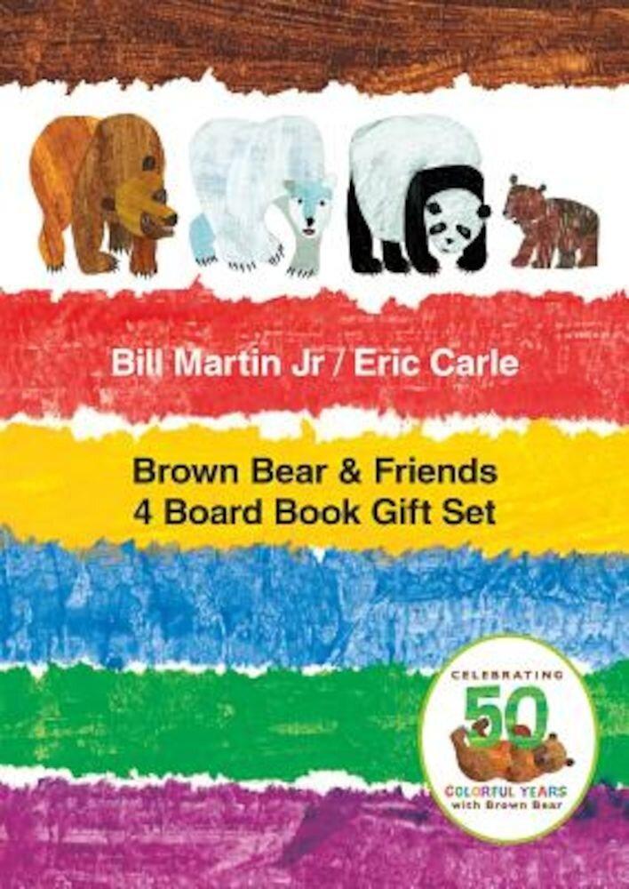 Brown Bear & Friends 4 Board Book Gift Set, Hardcover