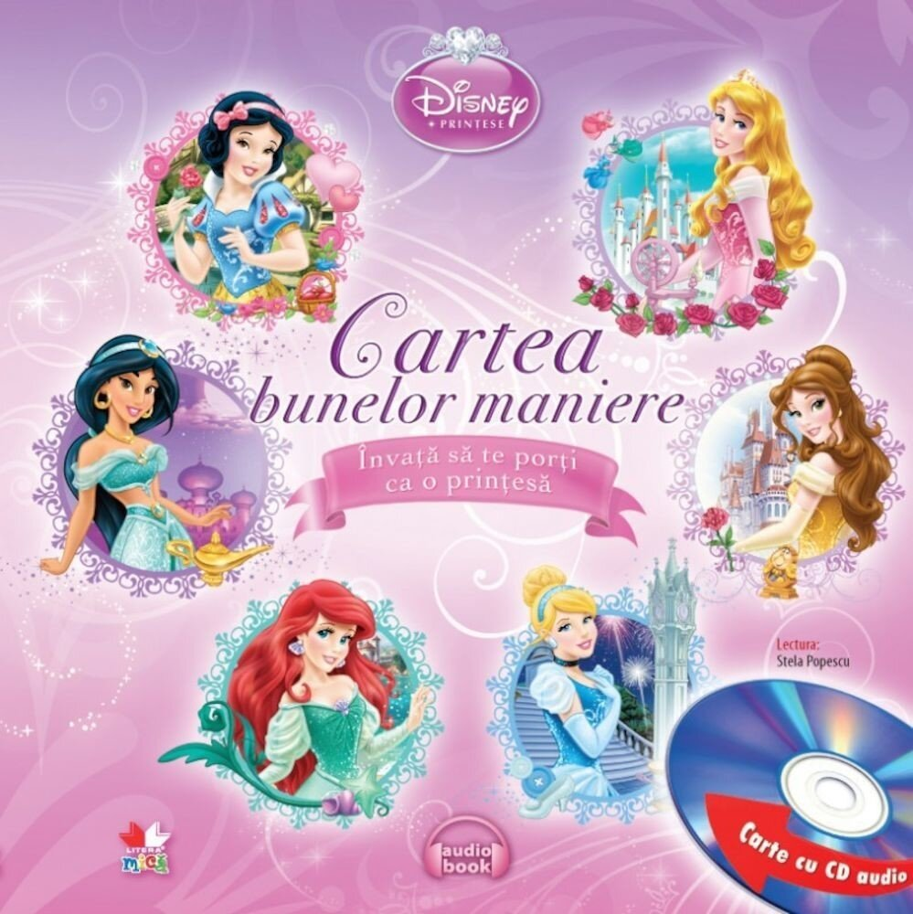 Disney printese: Cartea bunelor maniere (carte cu CD audio)