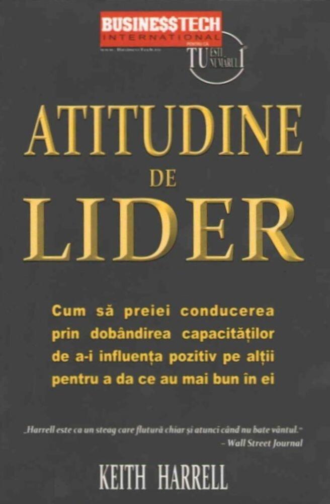 Coperta Carte Atitudine de lider