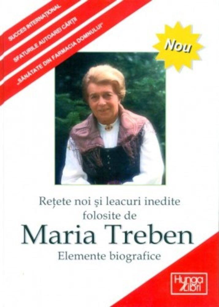 Retete si leacuri inedite folosite de Maria Treben. Elemente biografice