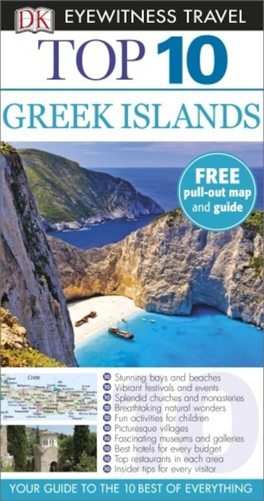 Eyewitness Top 10 Travel Guide: Greek Islands - English version