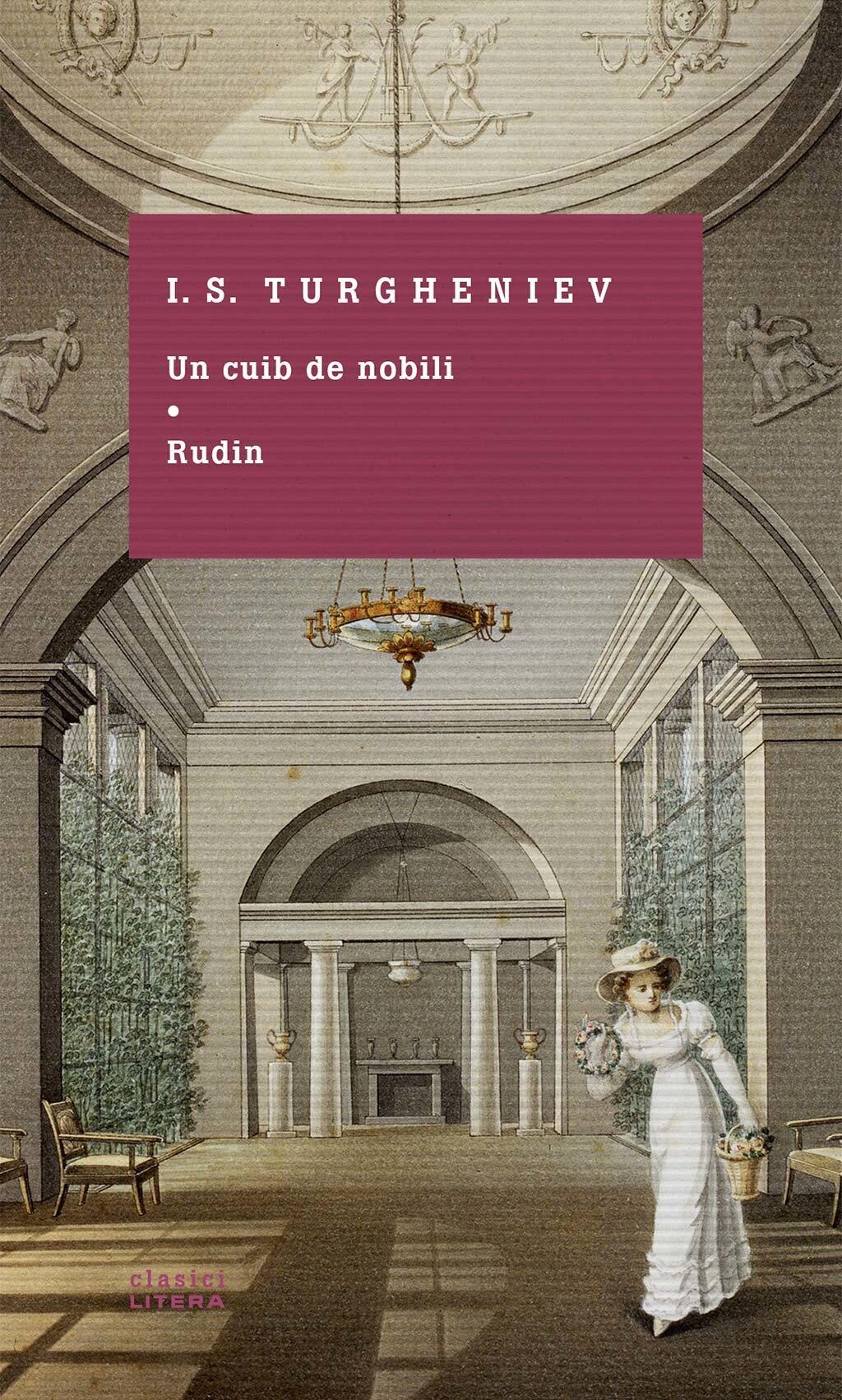 Coperta Carte Un cuib de nobili. Rudin