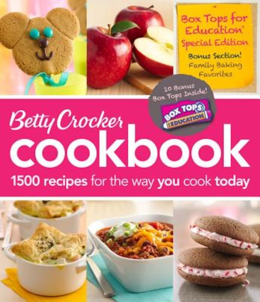 Betty Crocker Cookbook: 1500 Recipes for the Way You Cook Today, Hardcover