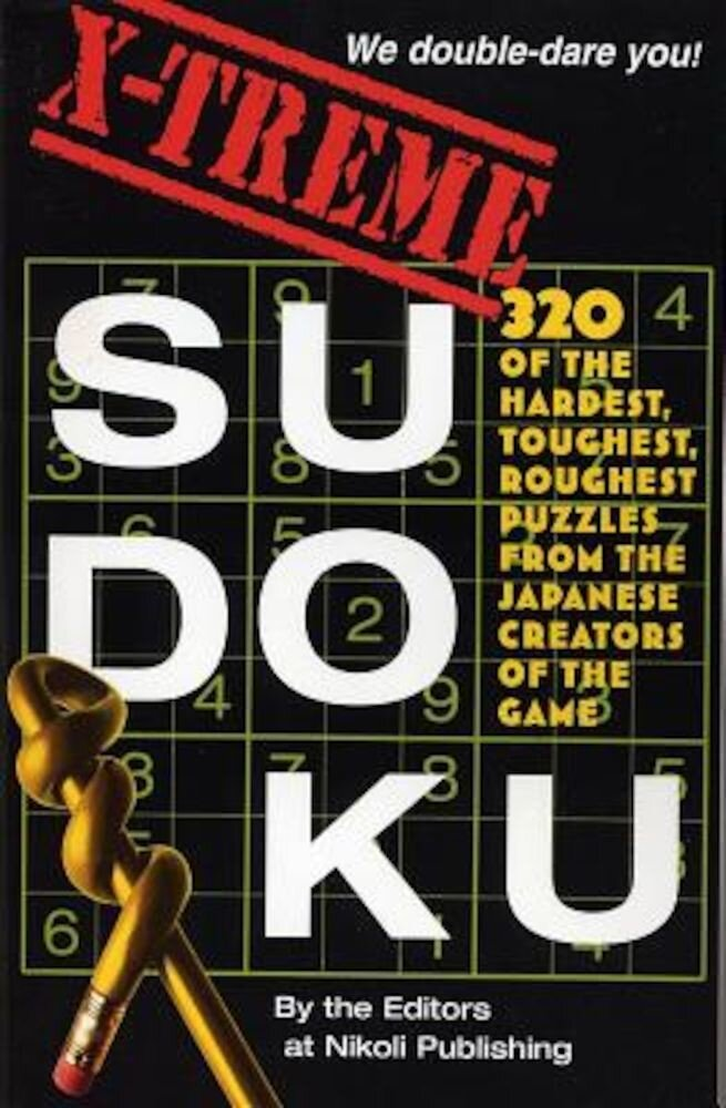 X-Treme Sudoku, Paperback