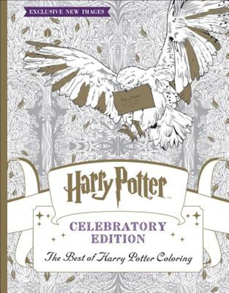 The Best of Harry Potter Coloring: Celebratory Edition (Harry Potter), Paperback