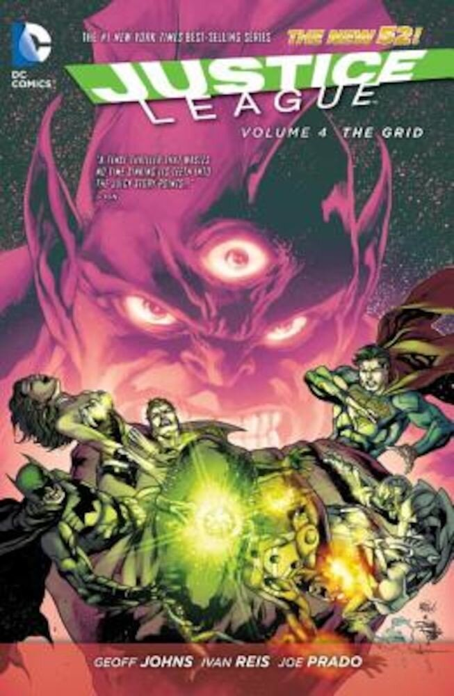 Justice League Vol. 4: The Grid (the New 52), Paperback