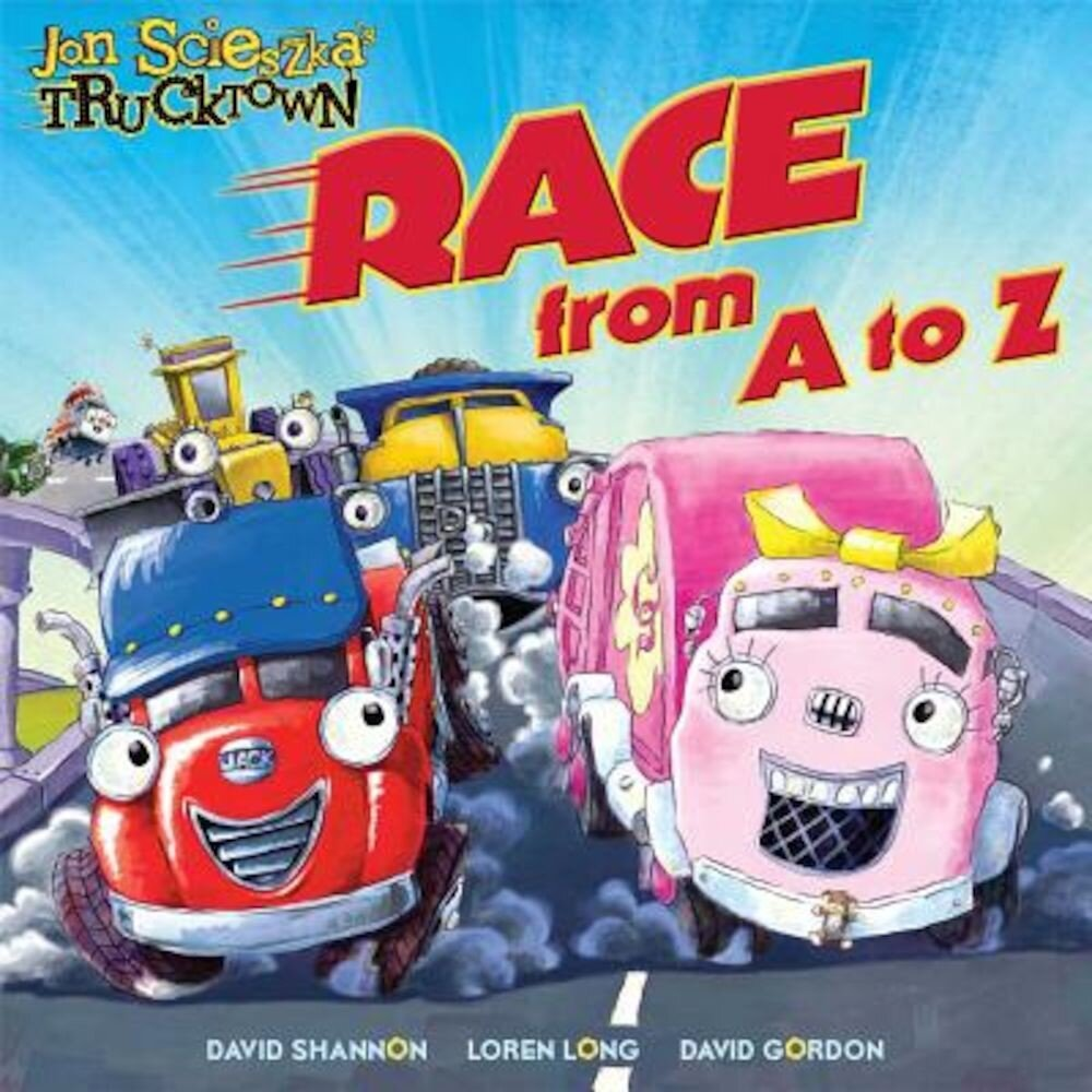 Race from A to Z, Hardcover