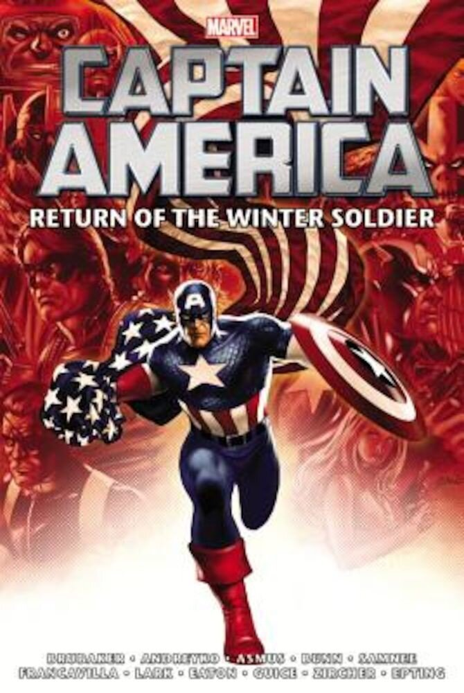 Captain America: Return of the Winter Soldier Omnibus, Hardcover