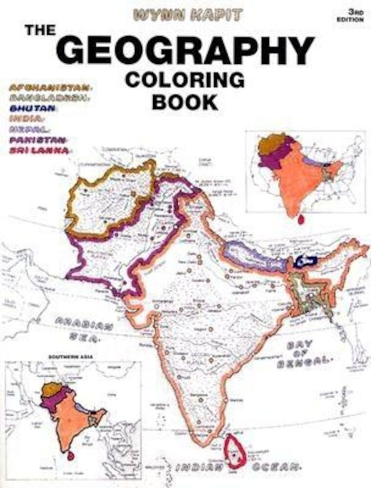 The Geography Coloring Book, Paperback