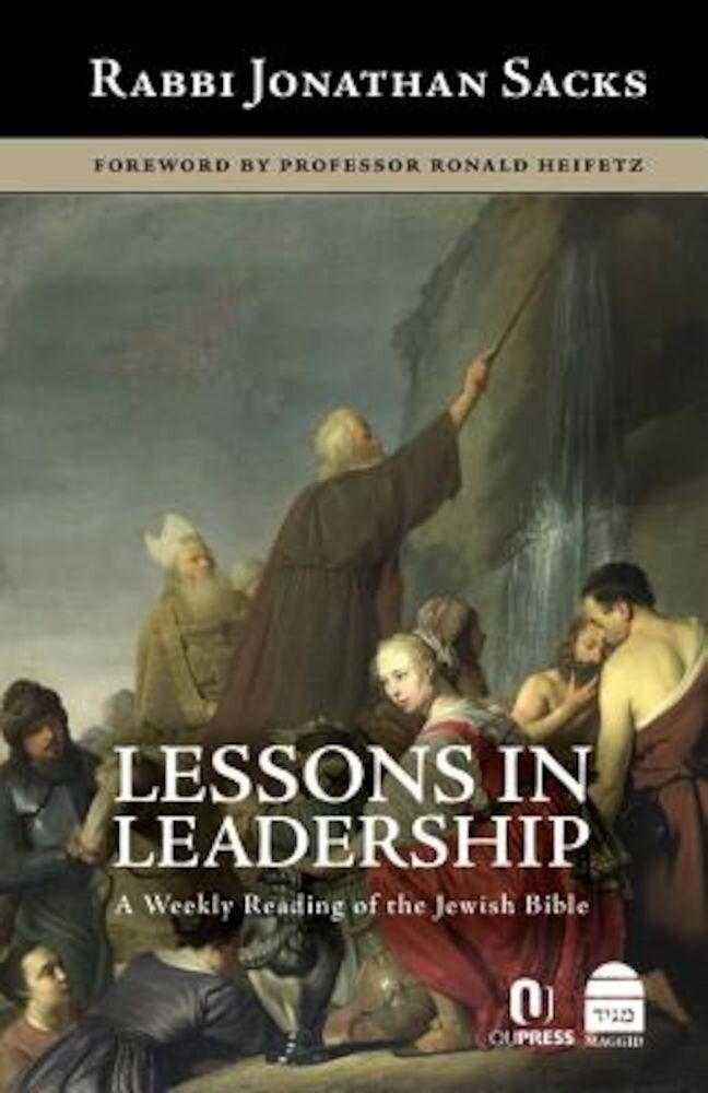 Lessons in Leadership: A Weekly Reading of the Jewish Bible, Hardcover