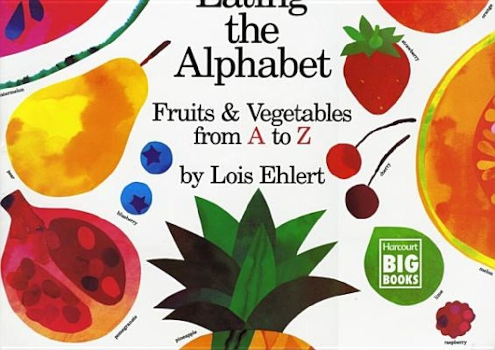 Eating the Alphabet: Fruits & Vegetables from A to Z, Paperback