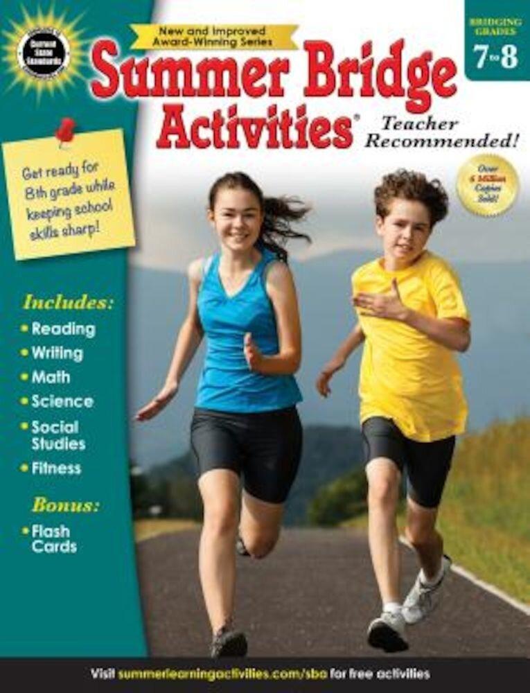 Summer Bridge Activities, Grades 7 - 8, Paperback