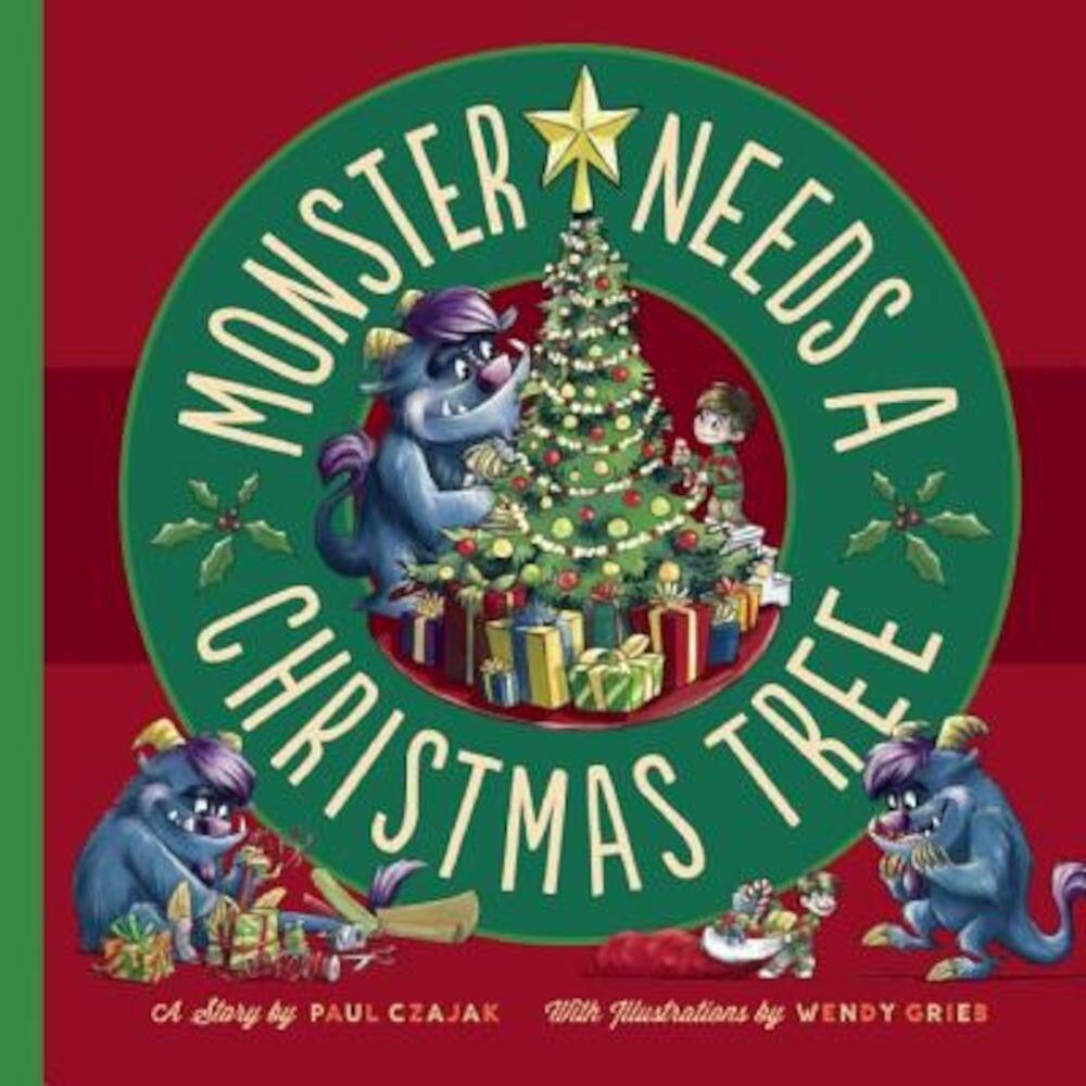Monster Needs a Christmas Tree, Hardcover
