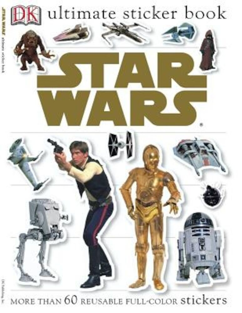 Star Wars [With Reusable Stickers], Paperback