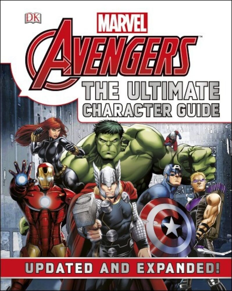 Marvel The Avengers The Ultimate Character Guide - English version