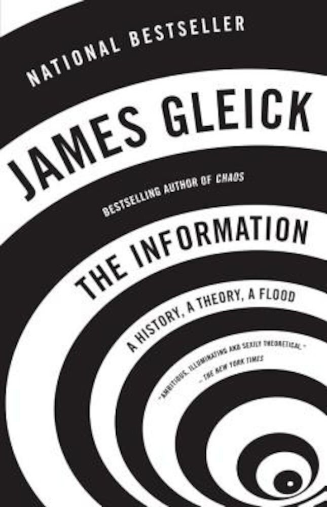 The Information: A History, a Theory, a Flood, Paperback
