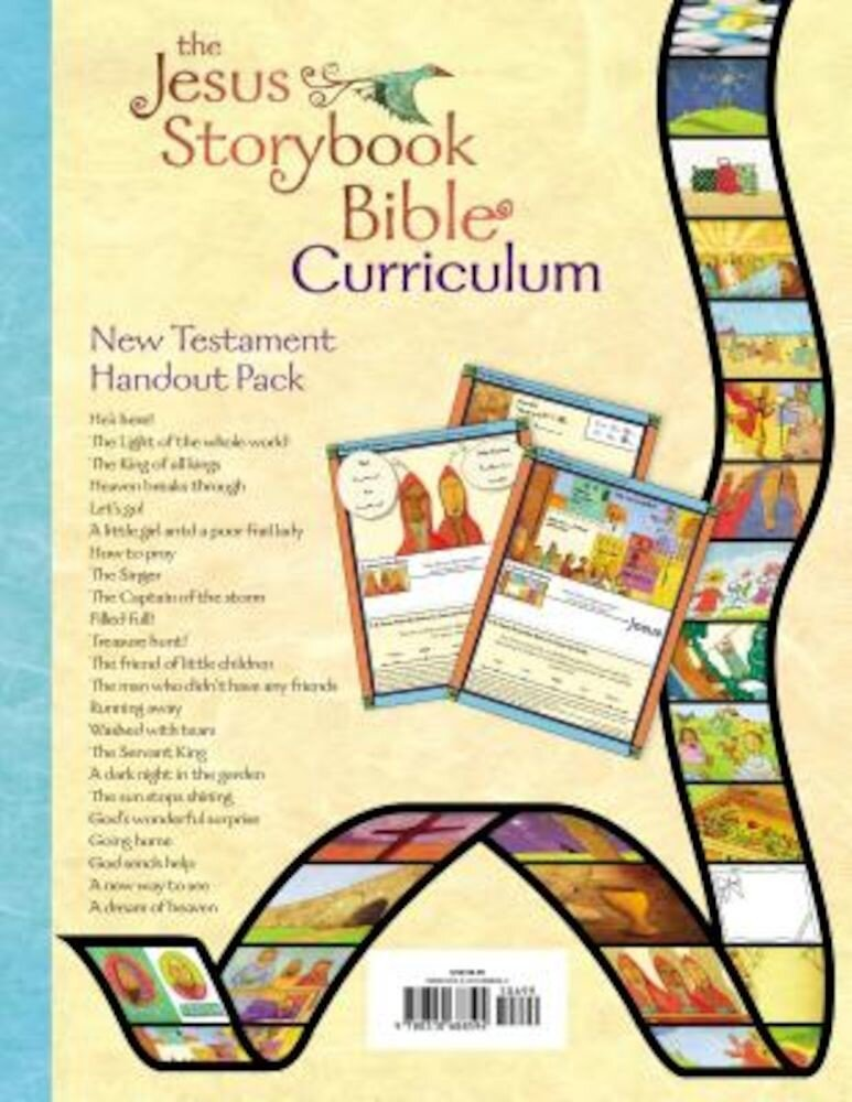 The Jesus Storybook Bible Curriculum New Testament Handout Pack, Paperback