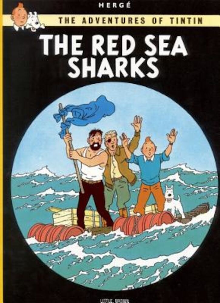 The Adventures of Tintin: The Red Sea Sharks, Paperback
