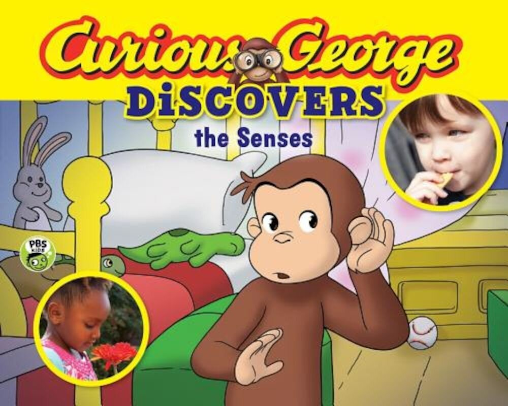 Curious George Discovers the Senses (Science Storybook), Paperback