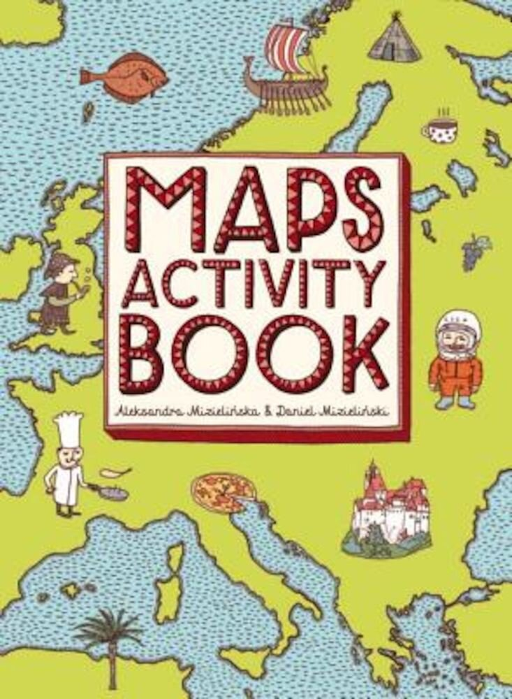Maps Activity Book, Paperback