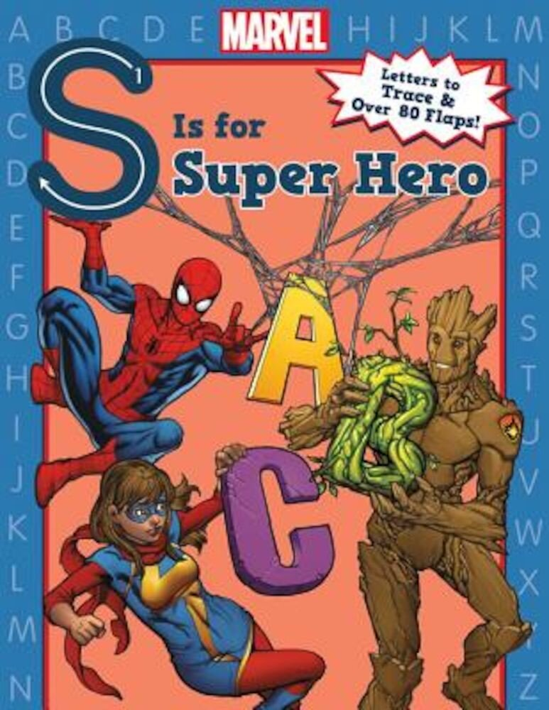 S Is for Super Hero, Hardcover