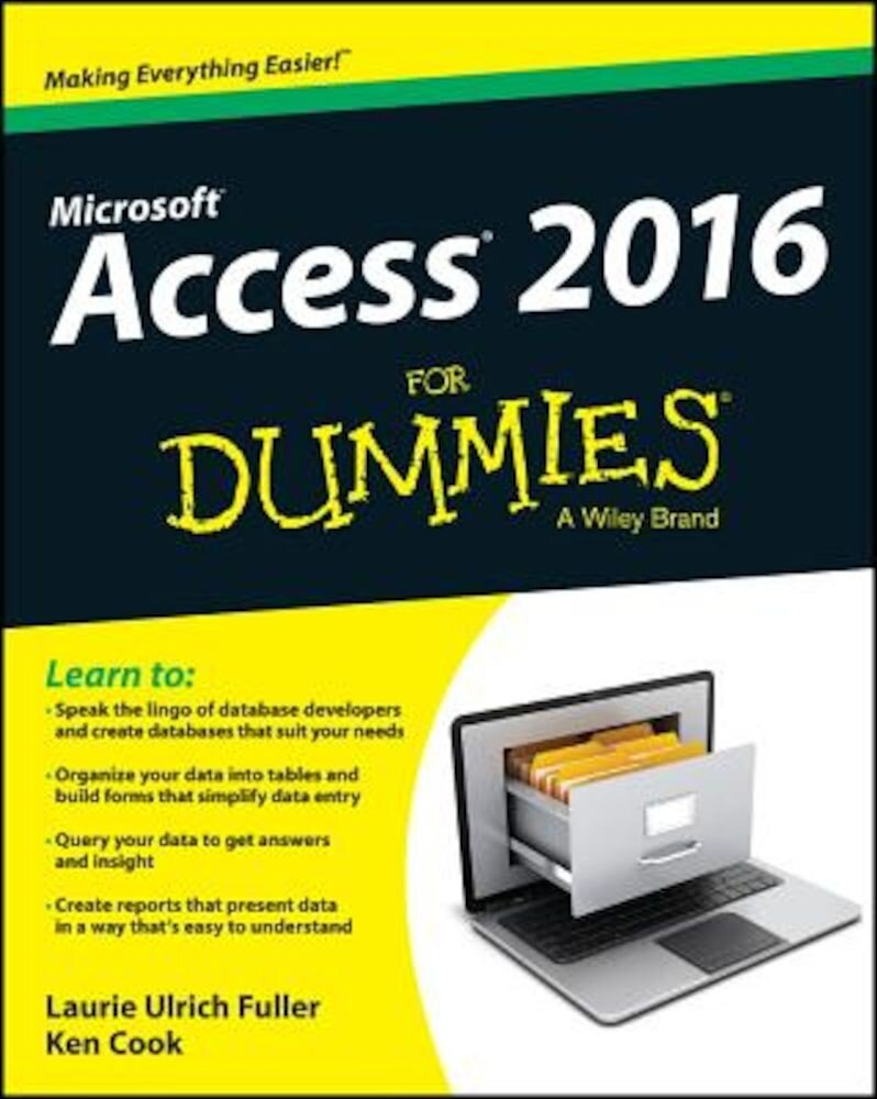 Access 2016 for Dummies, Paperback