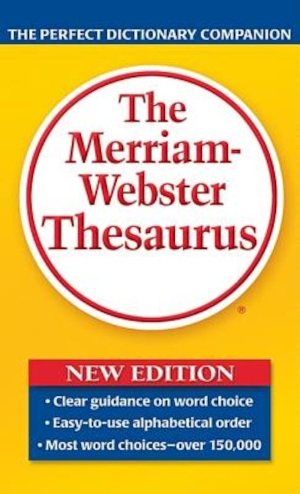 The Merriam-Webster Thesaurus, Paperback